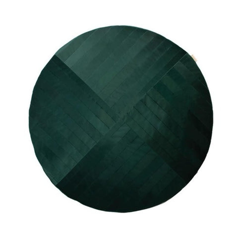 Nobodinoz Rug Velvet Kilimanjaro Jungle Green