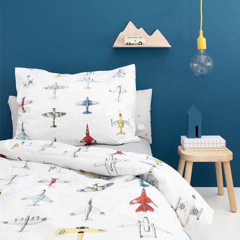 Duvet Cover Airplanes