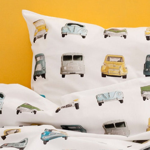 Duvet Cover Cars Toddler Size