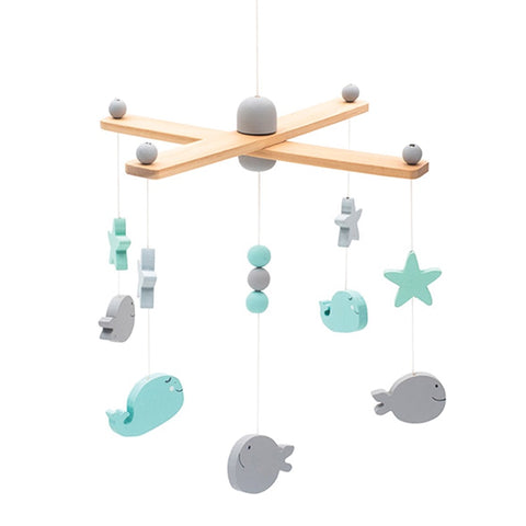 Mobile Sea Animals Grey/White