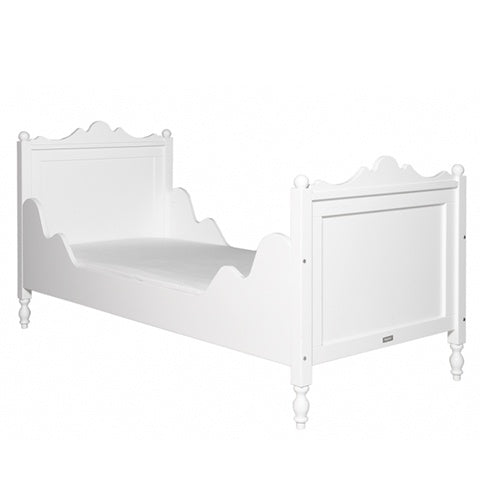 Bed Single Size Belle White