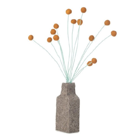 Flower Vase Felt Drum Sticks
