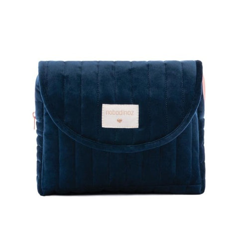 Nobodinoz Maternity Case Velvet Night Blue