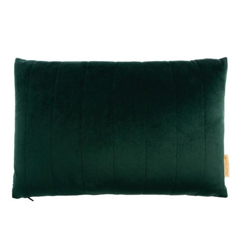 Nobodinoz Cushion Akamba Velvet Jungle Green