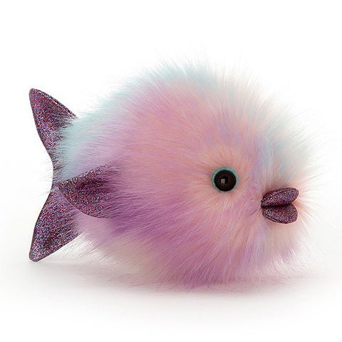 Jellycat Soft Toy Disco Fish Pastel