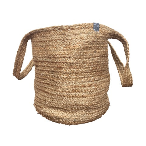 DEER Jute Handmade Rope Basket Natural