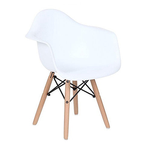 Replica Eames Kids Arm Chair White