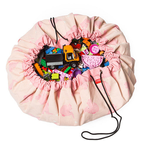 Play & Go Storage Bag Pink Elephant