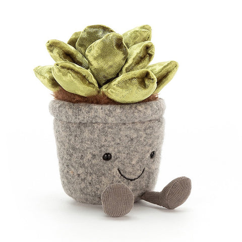 Jellycat Soft Toy Silly Succulent Jade