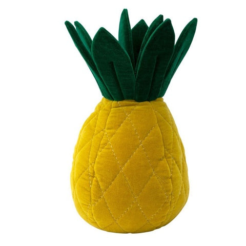 Cushion Velvet Pineapple