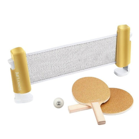 Ping Pong Play Gold Glitter
