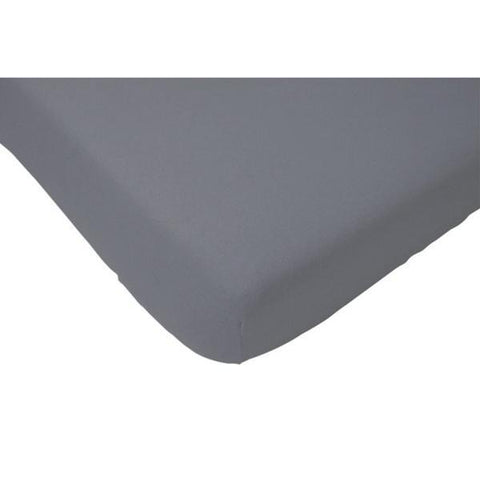 Jollein Fitted Sheet Jersey 70x140 Anthracite