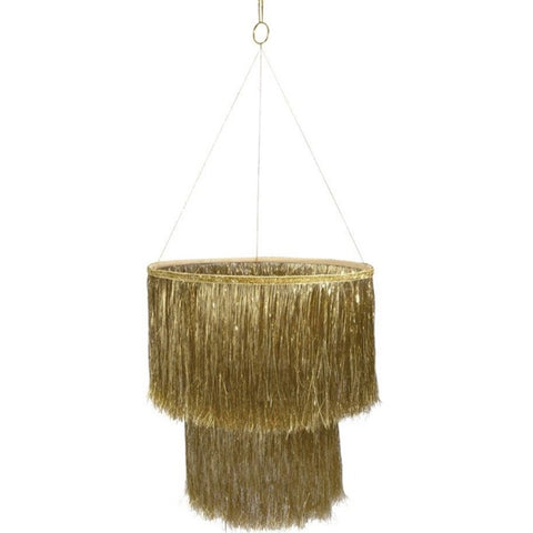 Chandelier Gold Tinsel