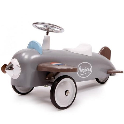 Ride On Speedster Plane Silver