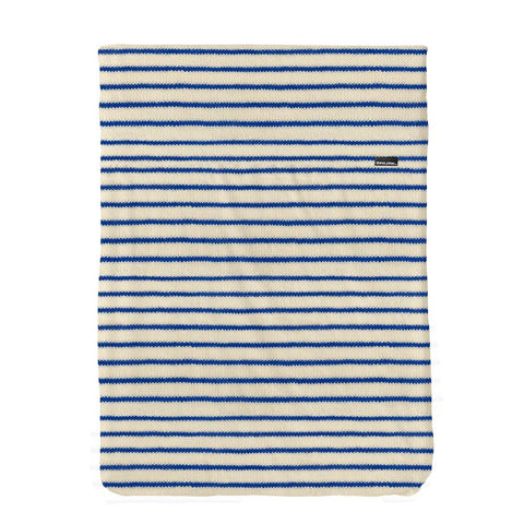 Flat Sheet Cot Breton Bonsoir Blue
