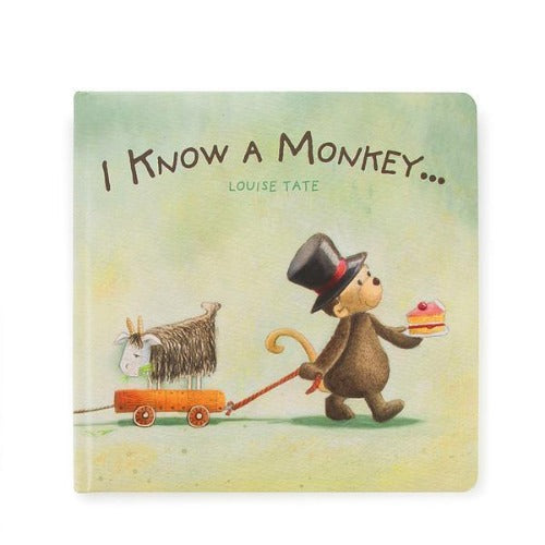 Jellycat Book I Know A Monkey