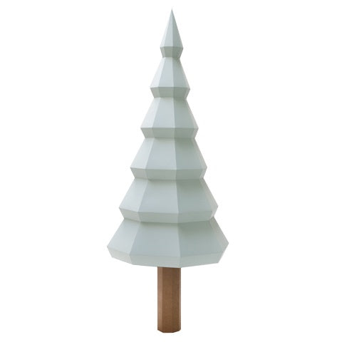 Paper Sculpture X-mas tree Mint