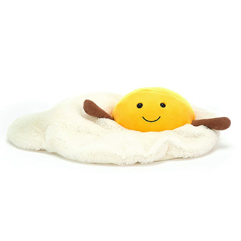 Jellycat Soft Toy Amuseable Fried Egg