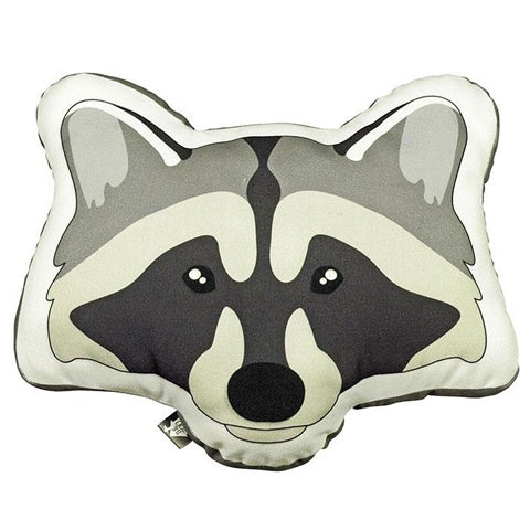 Cushion Forest Animal Raccoon
