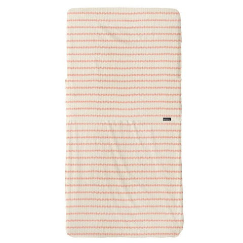 Fitted Sheet Cot Breton Bonsoir Pink