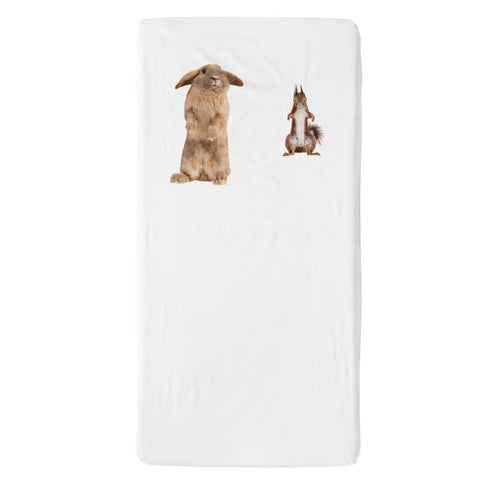 Furry Friends Fitted Sheet Cot