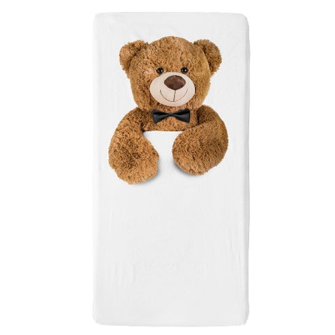 Fitted Sheet Cot Teddy