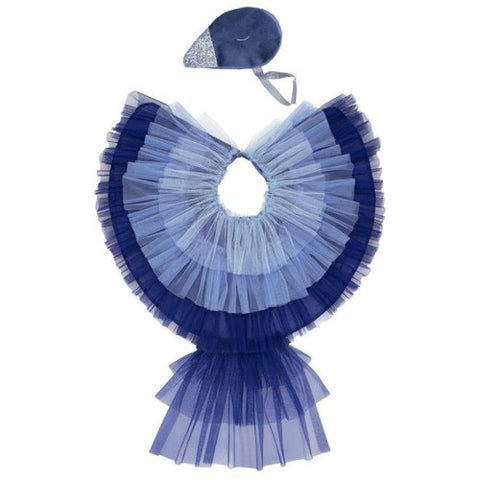 Dress Up Blue Bird Cape