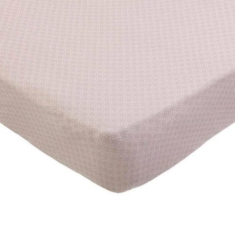 Fitted Sheet Cot Pretty Pearls