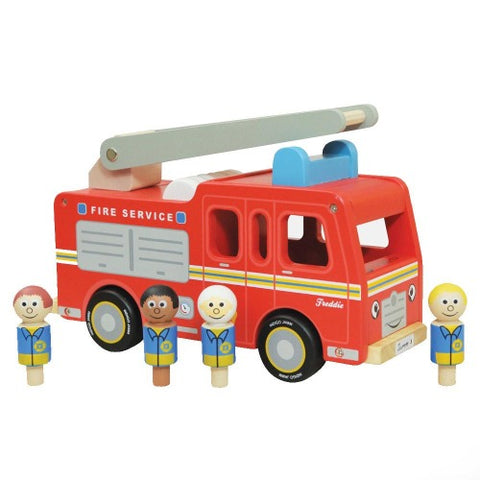 Wooden Toy Freddie Fire Engine
