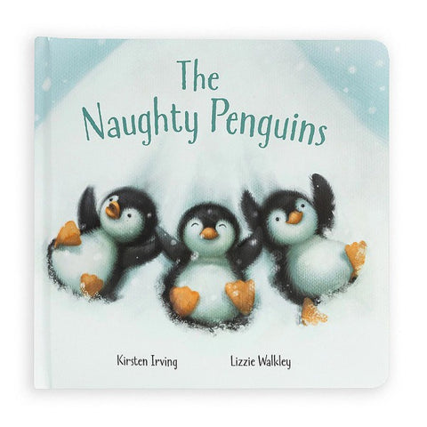Jellycat Book The Naughty Penguins