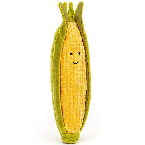 Jellycat Soft Toy Vivacious Vegetable Sweetcorn