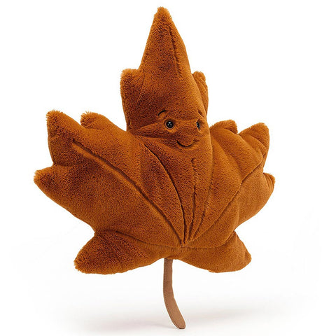 Jellycat Soft Toy Woodland Maple Leaf