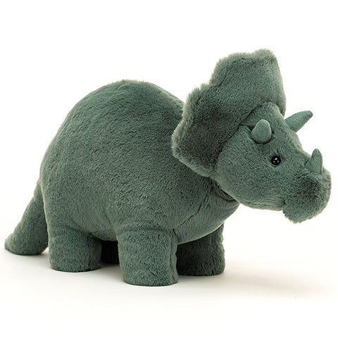 Jellycat Soft Toy Fossilly Triceratops