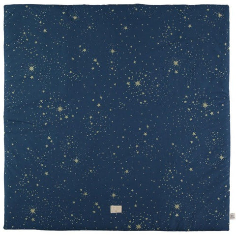 Nobodinoz Playmat Square Colorado Gold Stella/Night Blue