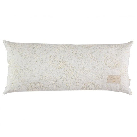 Nobodinoz Cushion Hardy Long Gold Bubble/White