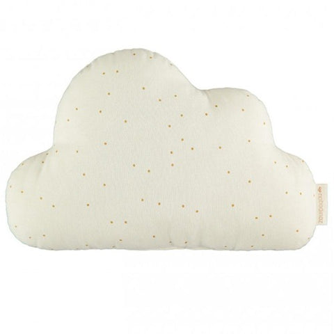 Nobodinoz Cushion Cloud Honey Sweet Dots Natural