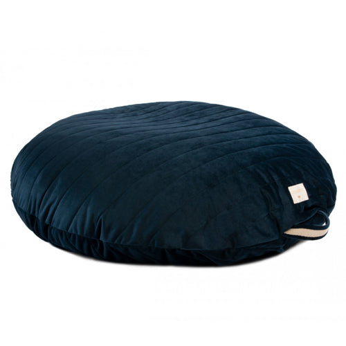 Nobodinoz Bean Bag Sahara Velvet Midnight Blue