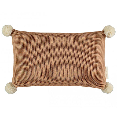 Nobodinoz Cushion So Natural Knitted Biscuit