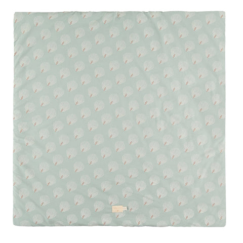 Nobodinoz Playmat Square Colorado White Gatsby Antique Green