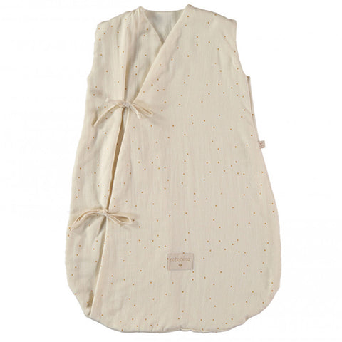Nobodinoz Sleeping Bag Dreamy Summer Honey Sweet Dots Natural