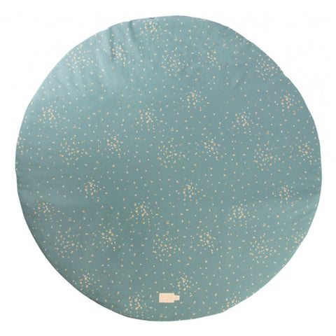 Nobodinoz Playmat Round Full Moon Gold Confetti/Magic Green