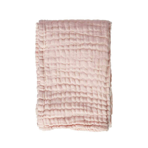 Baby Blanket Soft Mousseline Pink