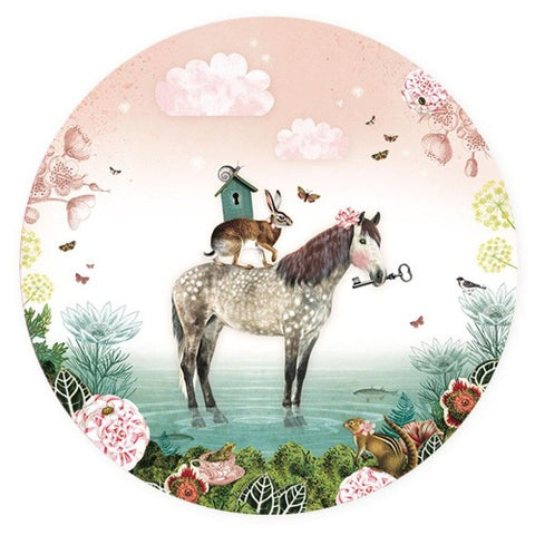 Wall Sticker Fairytale Horse