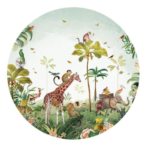 Wall Sticker Jungle Parade