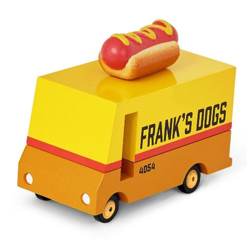 Wooden Candyvan Hot Dog Van