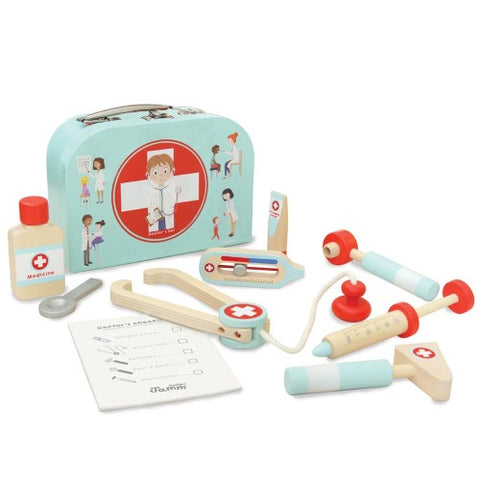 Wooden Toy Little Doctors Set