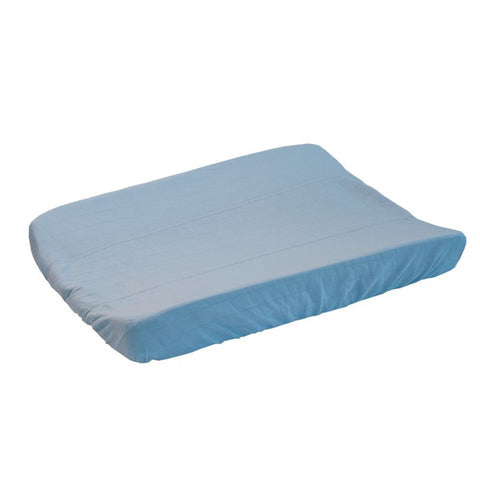 Lodger Changing Pad Cover Solid Pure (Blue)