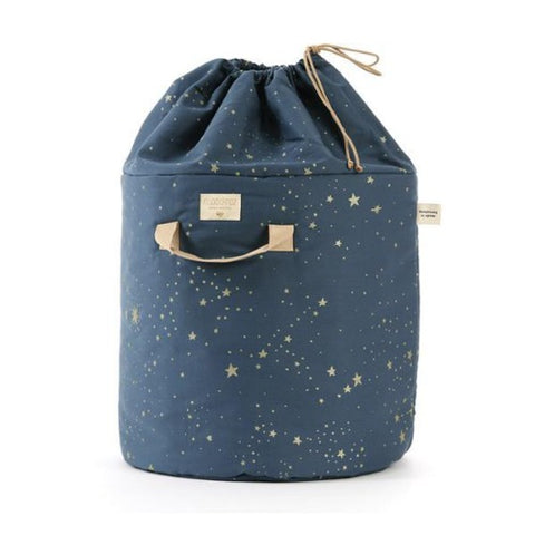 Nobodinoz Toy Bag Gold Stella/Night Blue