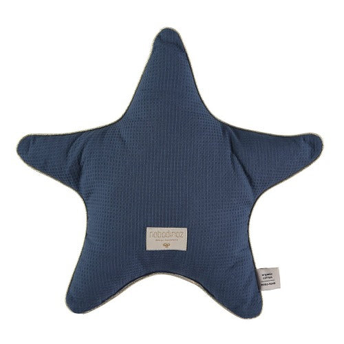 Nobodinoz Cushion Aristote Night Blue