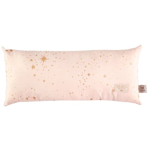 Nobodinoz Cushion Hardy Long Gold Stella/Dream Pink